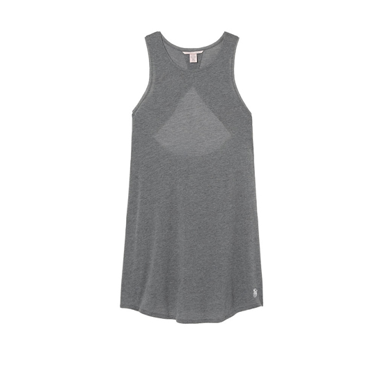 VICTORIA'S SECRET Medium Heather Grey NEW! Open-back Slip Outlet Online