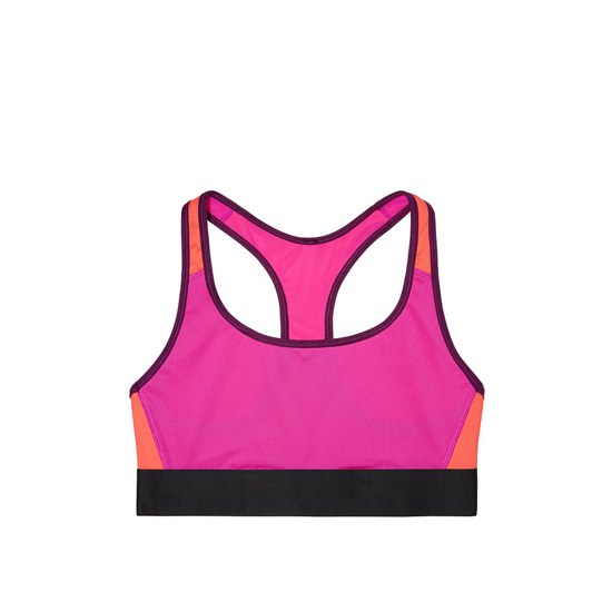 VICTORIA'S SECRET Dragonfruit NEW! The Player by Victoria Sport Racerback Sport Bra Outlet Online
